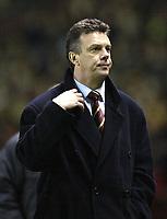 Fotball<br /> England 2004/2005<br /> Foto: SBI/Digitalsport<br /> NORWAY ONLY<br /> 22.01.2005<br /> <br /> Manchester United v Aston Villa<br /> FA Barclays Premiership.<br /> <br /> Villa's manager David O'Leary after losing to Man Utd