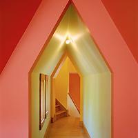 Highland House by Gwathmey Siegel Architects, Madison, Wisconsin.  Courtesy Architectural Digest.