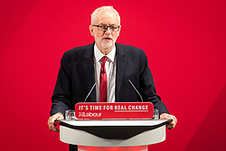 © Licensed to London News Pictures. 26/11/2019. London, UK. Labour Party Leader Jeremy Corbyn speaks at the launch of the party's new Race and Faith manifesto at an event in Tottenham Green, North London. Photo credit: Rob Pinney/LNP