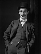 Gilbert Frankau, English Author and War Poet, 1920
