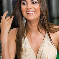 SHEFFIELD, UNITED KINGDOM - 9th June 2007: Bollywood actress Lara Dutta at  International Indian Film Academy Awards (IIFAs) at the Sheffield Hallam Arena on June 9, 2007 in Sheffield, England.