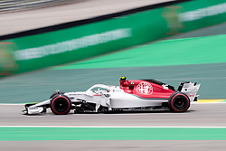 November 10, 2018 - Sao Paulo, Sao Paulo, Brazil - CHARLES LECLERC, of Sauber F1 Team, during the free practice session for the Formula One Grand Prix of Brazil at Interlagos circuit, in Sao Paulo, Brazil. The grand prix will be celebrated next Sunday, November 11. (Credit Image: © Paulo LopesZUMA Wire)