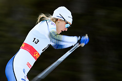 November 24, 2018 - Ruka, FINLAND - 181124 Stina Nilsson of Sweden competes in the women's sprint classic technique prologue during the FIS Cross-Country World Cup premiere on November 24, 2018 in Ruka  (Credit Image: © Carl Sandin/Bildbyran via ZUMA Press)
