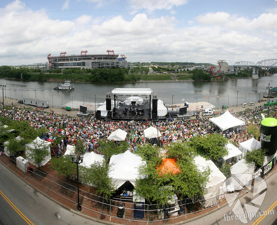 at Riverfront Park for the 2009 CMA Music Festival on June 11, 2009 in Nashville, Tennessee.Freddy Breedon stars in Shoot Em Pup in Nashville, Tennessee on Sunay, June 7, 2009. (Photo by Frederick Breedon)