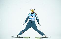 Svenja Wuerth of Germany during 2nd Round at Day 1 of World Cup Ski Jumping Ladies Ljubno 2019, on February 8, 2019 in Ljubno ob Savinji, Slovenia. Photo by Matic Ritonja / Sportida