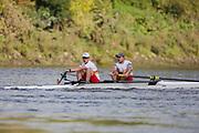 Crew: 31 - Brown / Stevenson - Tideway Scullers School - Op 2- Championship <br /> <br /> Pairs Head 2020