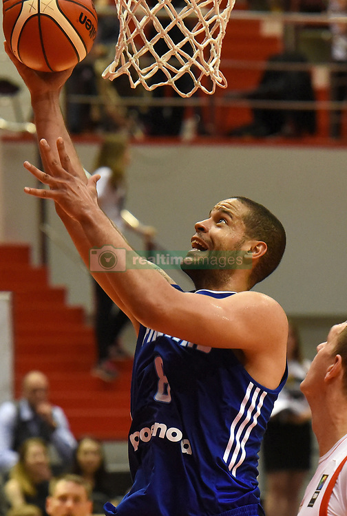 August 4, 2017 - St. Petersburg, Russia - Russia, St. Petersburg, on August 4, 2017. International basketball tournament ''V. Kondrashin and A. Belov's Cup''. Match Russia - Finland. In the picture: the player of the national team of Finland Gerald Lee in basketball match of the Cup of V. Kondrashin and A. Belov, between Russian national teams and Finland. (Credit Image: © Andrey Pronin via ZUMA Wire)
