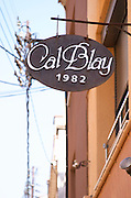 Restaurant Cal Blay, Sant Sadurni d'Anoia, Catalonia, Spain.