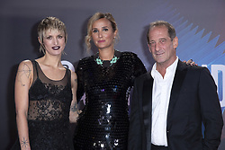 Agathe Rousselle, Julia Ducournau and Vincent Lindon attending the Titane Premiere as part of the 65th BFI London Film Festival at the Royal Festival Hall in London, England on October 09, 2021. Photo by Aurore Marechal/ABACAPRESS.COM