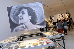 October 10, 2018 - Malaga, Spain - The Episcopal Palace, in its exhibition space Ars Malaga hosts the exhibition 'Argentine Empire: Look At A Myth', which will delve into the ''revolutionary figure'' of the artist The objects that make up the show have been grouped by concepts and have been divided into different themes. (Credit Image: © Lorenzo Carnero/ZUMA Wire)