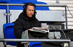Talksport radio presenter Ray Parlour in the stands for the match