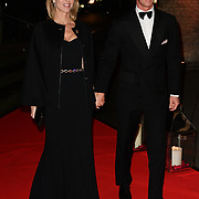 Eva Herzigová and Gregorio Marsiaj arrivers at DKMS is the world's largest international donor centre. So far they have helped to register over 8 million potential donors and facilitated over 70,000 blood stem cell transplants worldwide Big Love London Gala at The Round House on 7 November 2018, London, UK