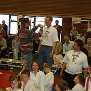 Prijsuitreiking gehandicapten judo politieburo huizen, Carlo Boszhard
