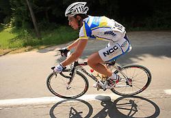 Volodymyr Zagorodniy of Ukraina (NGC Medical - OTC Indutria Porte) during 1st stage of the 15th Tour de Slovenie from Ljubljana to Postojna (161 km) , on June 11,2008, Slovenia. (Photo by Vid Ponikvar / Sportal Images)/ Sportida)
