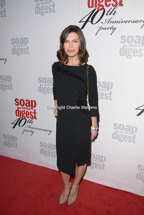 FINOLA HUGHES at Soap Opera Digest's 40th Anniversary party at The Argyle Hollywood in Los Angeles, California