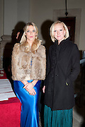 CAMILLA DE NORMAN; SARAH PRICE, Charity Dinner in aid of Caring for Courage The Royal Scots Dragoon Guards Afganistan Welfare Appeal. In the presence of the Duke of Kent. The Royal Hospital, Chaelsea. London. 20 October 2011. <br /> <br />  , -DO NOT ARCHIVE-© Copyright Photograph by Dafydd Jones. 248 Clapham Rd. London SW9 0PZ. Tel 0207 820 0771. www.dafjones.com.
