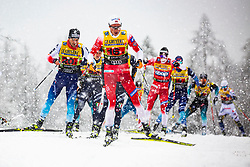 Gjoeran Tefre (NOR) during Man team sprint race at FIS Cross Country World Cup Planica 2019, on December 22, 2019 at Planica, Slovenia. Photo By Peter Podobnik / Sportida