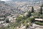 Israel, Eastern Jerusalem the Palestinian town of Silwan