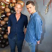 NLD/Amsterdam/20200914 - Fajah Lourens introduceert nieuwe lijn Killerbody, Koen Kardashian en Wim Glas