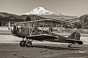Boeing 40C at WAAAM.