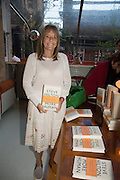 LADY RUTH ROGERS, Launch of ' More Human',  Designing a World Where People Come First' by Steve Hilton. Party held at Second Home in Princelet St, off Brick Lane, London. 19 May 2015.