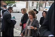 LADY ASHCOMBE, Memorial service for Mark Shand.  . St. Paul's Knightsbridge. September 11 2014.
