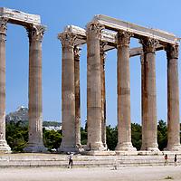 Temple of Olympian Zeus - Athens - Greece