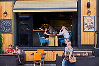 Russie, Moscou, bar de la rue Bol'shaya Dmitrovka // Russia, Moscow, bar in Bol'shaya Dmitrovka street