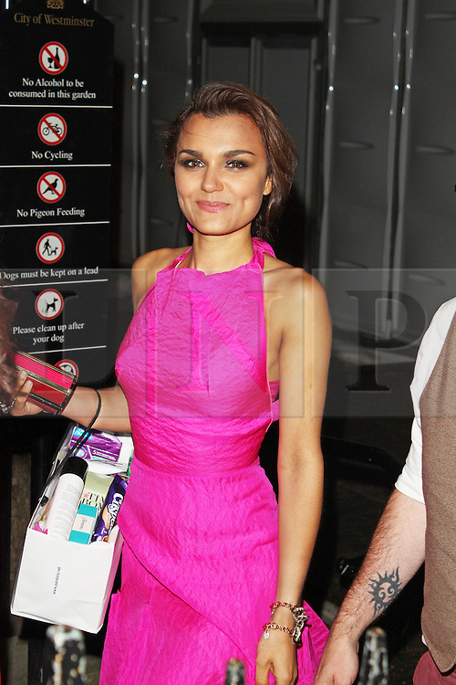 LONDON - June 04: Samantha Barks leaving the Glamour Awards 2013 (Photo by Brett D. Cove) /LNP © Licensed to London News Pictures.