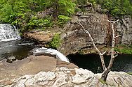 DeSoto Falls, on a branch of the Little River in Alabama.