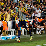 Fenerbahce's Van Persie during their UEFA Champions league third qualifying round first leg soccer match Fenerbahce between Shakhtar Donetsk at the Sukru Saracaoglu stadium in Istanbul Turkey on Tuesday 28 July 2015. Photo by Aykut AKICI/TURKPIX