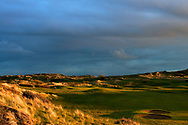 1st hole / East Course - Saunton Golf Club, Picture Credit / Phil Inglis..<br /> <br /> Saunton Golf Club is home to two of the great mature links golf courses of the World. The pair of Championship courses is located in the Braunton Burrows of North Devon less than ½ mile from the Atlantic Ocean set in the towering dunes that form the backdrop to their magnificent location. The basis for the present East Course was laid out under the direction of the renowned course architect W. Herbert Fowler in the 1920.s and so began the reputation as one of the finest links courses in the country.
