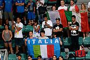 DESCRIZIONE : Bologna Nazionale Italia Uomini Imperial Basketball City Tournament Italia Filippine Italy Philippine<br /> GIOCATORE : tifosi<br /> CATEGORIA : tifosi<br /> SQUADRA : Italia Italy<br /> EVENTO : Imperial Basketball City Tournament<br /> GARA : Bologna Nazionale Italia Uomini Imperial Basketball City Tournament Italia Filippine Italy Philippine<br /> DATA : 26/06/2016<br /> SPORT : Pallacanestro<br /> AUTORE : Agenzia Ciamillo-Castoria/Max.Ceretti<br /> Galleria : FIP Nazionali 2016<br /> Fotonotizia : Bologna Nazionale Italia Uomini Imperial Basketball City Tournament Italia Filippine Italy Philippine