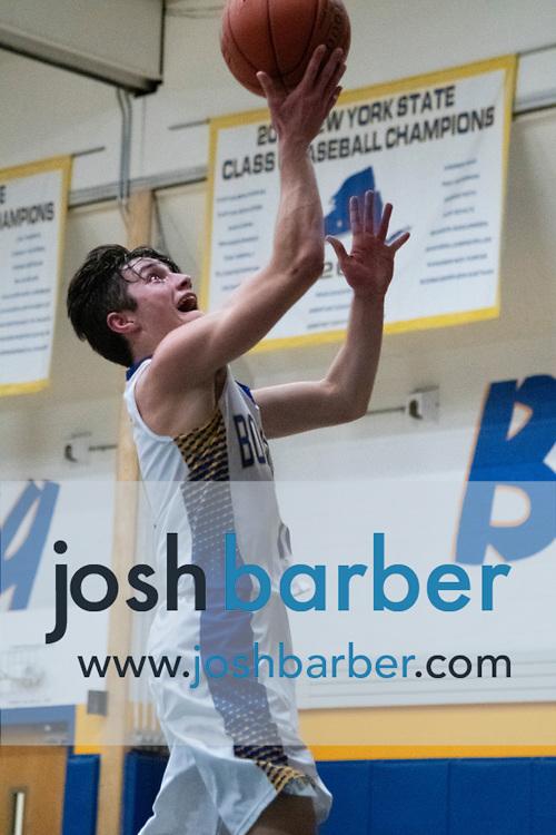 Lansing's Ben Vincent during the game at Lansing High School on Thursday, December 20, 2018 in Lansing, New York. (Photo/Josh Barber)