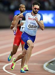 Martyn Rooney of Great Britain in action - Mandatory byline: Patrick Khachfe/JMP - 07966 386802 - 13/08/2017 - ATHLETICS - London Stadium - London, England - Men's 4x400m Metres Relay Final - IAAF World Championships