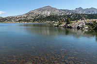 Rainbow Lake Bridger Wilderness Wind River Range Wyoming