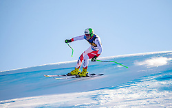 29.12.2018, Stelvio, Bormio, ITA, FIS Weltcup Ski Alpin, SuperG, Herren, im Bild Thomas Tumler (SUI) // Thomas Tumler of Switzerland in action during his run in the men's Super-G of FIS ski alpine world cup at the Stelvio in Bormio, Italy on 2018/12/29. EXPA Pictures © 2019, PhotoCredit: EXPA/ Johann Groder