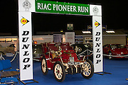 RIAC Classic Car Show 2013, RDS, 1900 Gladiator Tonneau which had a first French owner, nowadays, the current owner is Jonathan Bewley. Undoubtedly, a fascinating early twentieth century car, Irish, Photo, Archive.