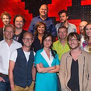 NLD/Amsterdam/20130828- Vara Najaarspresentatie 2013, groepsfoto