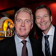NLD/Amsterdam/20121108 - Premiere Palazzo 2012, Andre van Duin en partner Martin Elferink