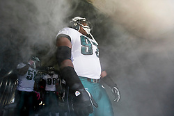 Philadelphia Eagles defensive tackle Brodrick Bunkley #97 prepares to enter the field before the NFL game between the Tampa Bay Buccaneers and the Philadelphia Eagles on October 11th 2009. The Eagles won 33-14 at Lincoln Financial Field in Philadelphia, Pennsylvania. (Photo By Brian Garfinkel)