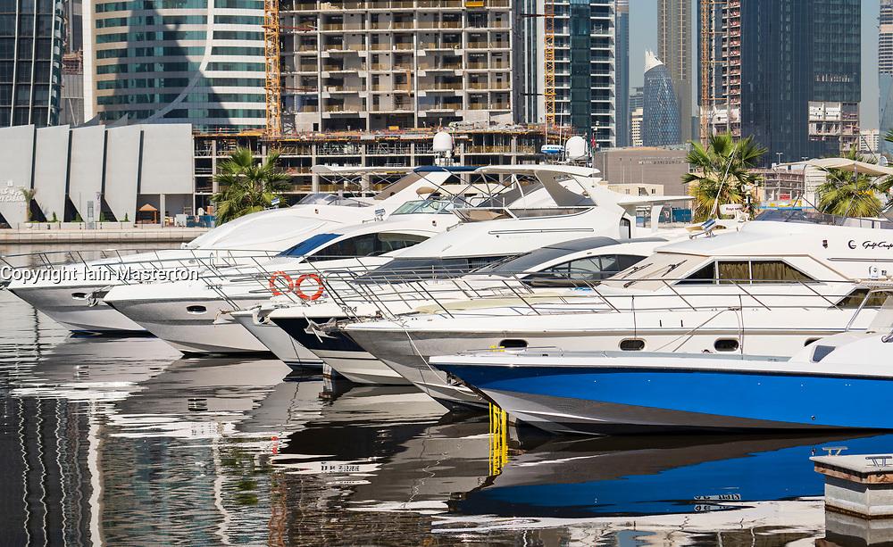 New Marasi Marina on The Creek in Business Bay in Dubai, United Arab Emirates