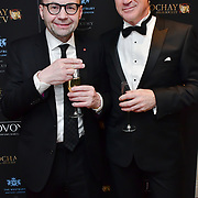 Johnathan Shalit and Michael Gelard attend Rochay High Society Soiree with Jovoy at Westbury Mayfair grafton suite on 21 November 2019, London, UK.