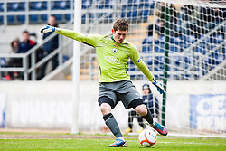 Falkirk's keeper Michael McGovern..Falkirk 4 v 1 Morton, 4/5/2013..© Michael Schofield..