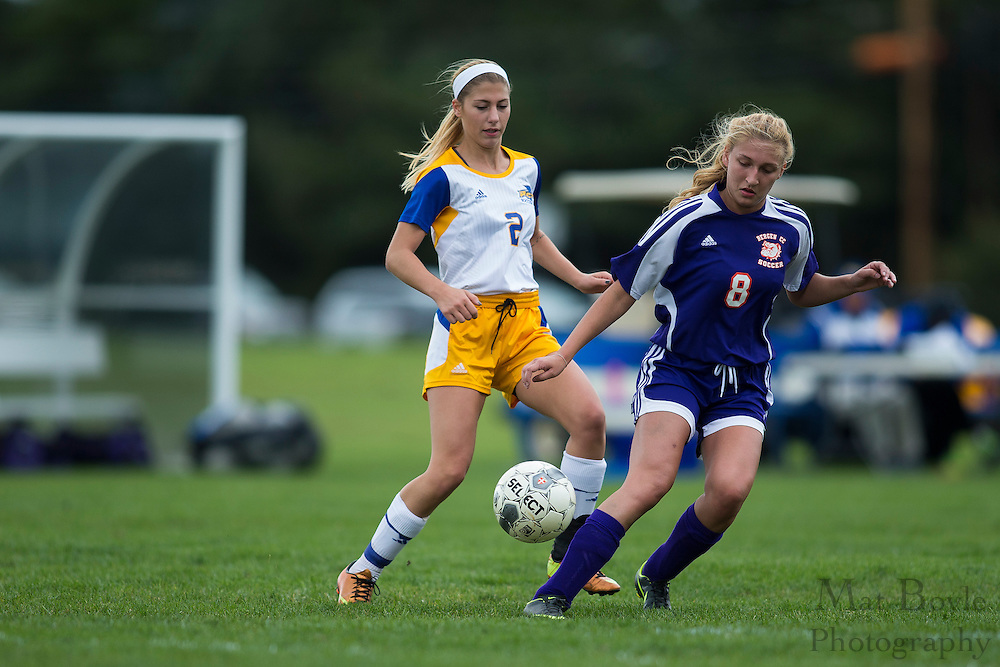 Rowan College at Gloucester County vs. Bergen Community College at Rowan College of Gloucester County Soccer Fields in Sewell, NJ on Saturday October 17, 2015. (photo / Mat Boyle)