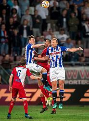 12-05-2018 NED: FC Utrecht - Heerenveen, Utrecht<br /> FC Utrecht win second match play off with 2-1 against Heerenveen and goes to the final play off / Ramon Leeuwin #3 of FC Utrecht, Henk Veerman #20 of SC Heerenveen