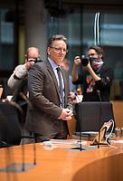 DEU, Deutschland, Germany, Berlin, 05.11.2020: Deutscher Bundestag, Paul-Löbe-Haus, Sitzung des 1. Untersuchungsausschusses zum Terroranschlag auf dem Breitscheidplatz. Öffentliche Zeugenvernehmung von Holger Münch, Präsident des Bundeskriminalamtes (BKA).