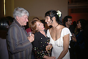 Geoffrey Robertson, . Padma Rushdie and Kathy Lette. Party to celebrate the publication of Shalimar the Clown by Salman Rushdie. David Gill Gallery, 3 Loghborough St. London SE11 ONE TIME USE ONLY - DO NOT ARCHIVE  © Copyright Photograph by Dafydd Jones 66 Stockwell Park Rd. London SW9 0DA Tel 020 7733 0108 www.dafjones.com