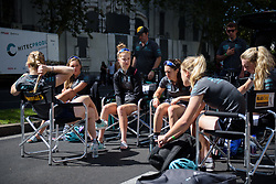 Drops Cycling prepare for their last race of the season at Madrid Challenge by la Vuelta 2017 - a 87 km road race on September 10, 2017, in Madrid, Spain. (Photo by Sean Robinson/Velofocus.com)
