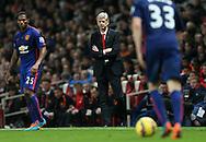 Arsenal's Arsene Wenger looks on dejected<br /> <br /> Barclays Premier League- Arsenal vs Manchester United - Emirates Stadium - England - 22nd November 2014 - Picture David Klein/Sportimage